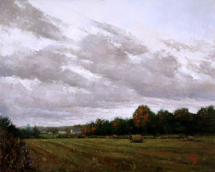 """Wilson Ong """"Overcast in Penn Yan"""" 16x20 oil $1,500. INQUIRE *"""