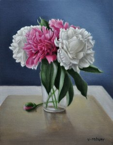 """Valorie Rohver """"Spring Bouquet"""" 10x8 oil $495."""