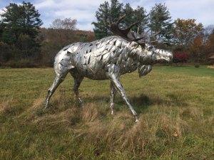 """Jay Seaman """"Moose"""" mixed media sculpture $ Inquire"""