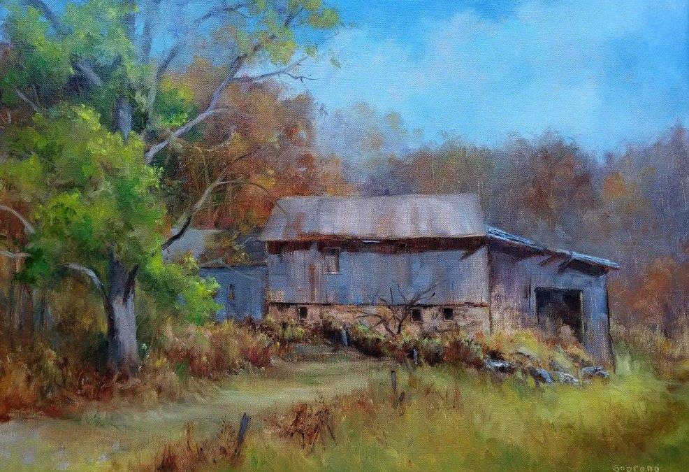 """Judy Soprano """"Autumn Colors"""" 16x20 oil $800."""