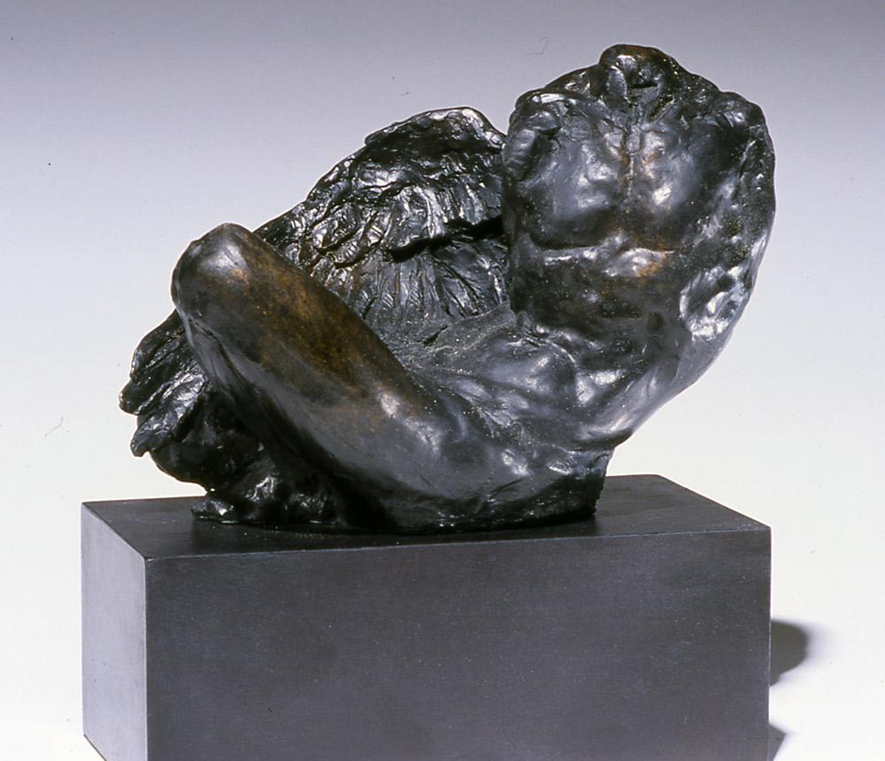 """Gary Weisman """"River God"""" 8.75""""h x 11.75""""w x 6.5""""d bronze $5,500."""