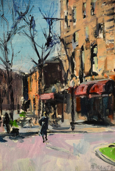 West End Gallery BaxterCorningNovember - Bruce Baxter