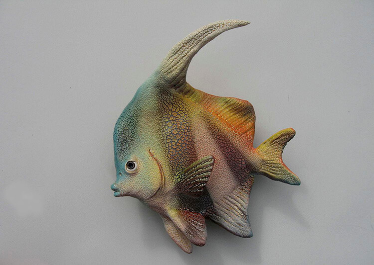 "Alan and Rosemary Bennett ""Coral Pennant"" fish glaze"