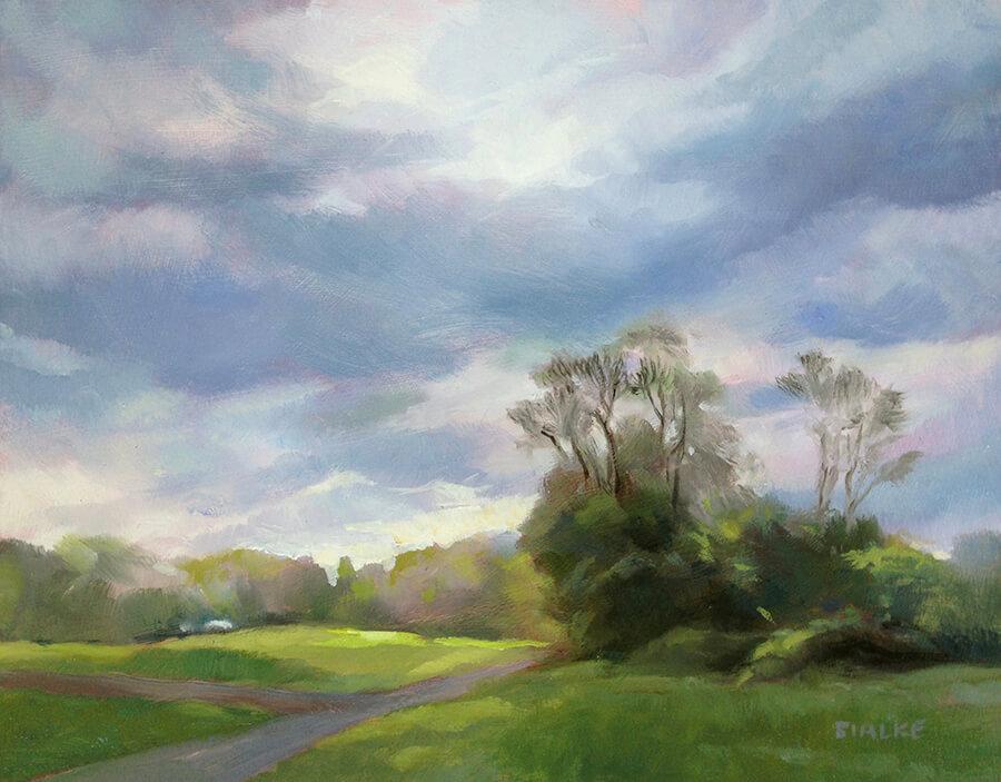 West End Gallery BialkeBreakingSun - Anne Bialke