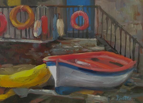 """Anne L. Bialke """"Manarosa Local Color"""" 6x8 $265. INQUIRE *"""