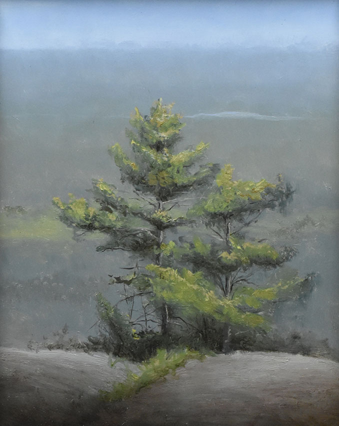 "Sean Witucki ""Catskill Inspiration"" 10x8 oil/board $850."