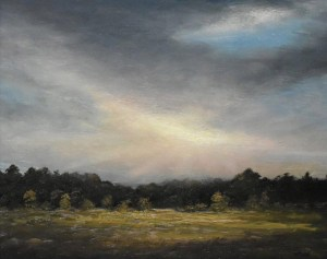 "Sean Witucki ""In the Light"" 8x10 oil $800."