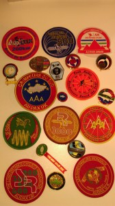 Audax Medals and Badges