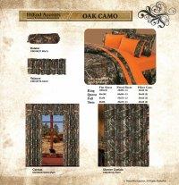 Pungo Ridge - Luxury Oak Camo Comforter Set, Oak Camo, CM1001