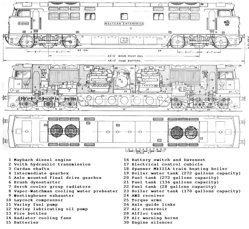 hight resolution of british railways class 52 diesel