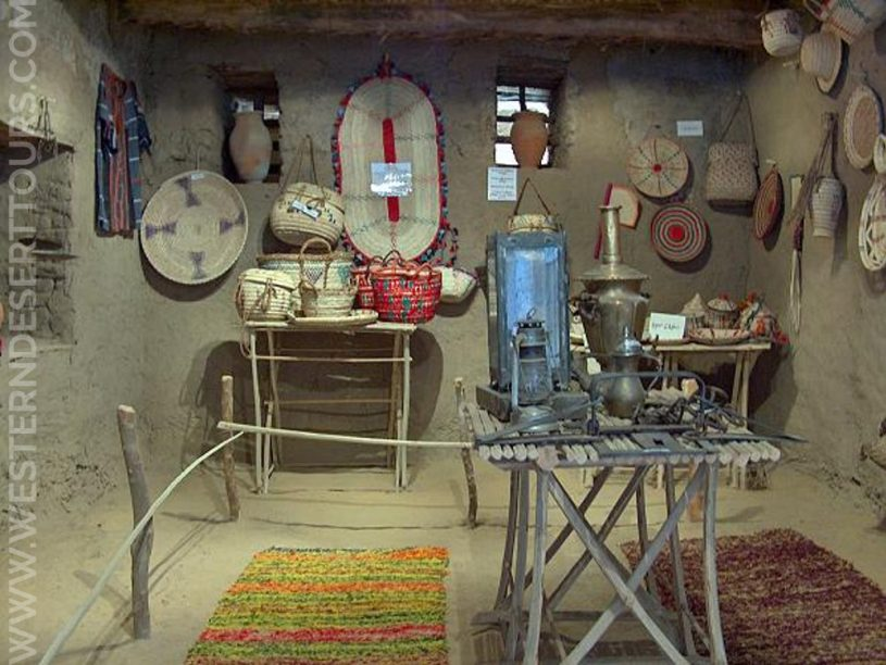 An exhibition room of the Ethnographic Museum in Mut