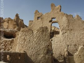 Detail of a building in Shali (Siwa Oasis)