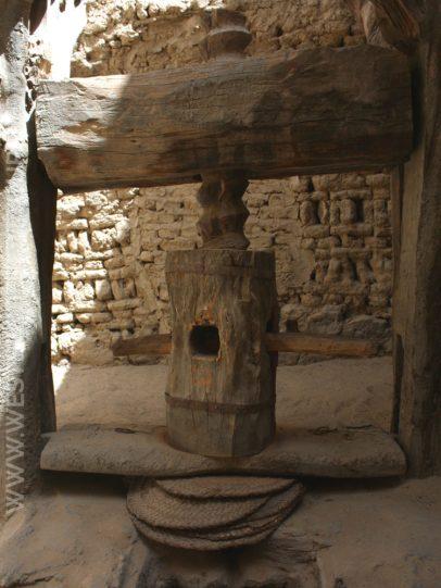 Press in the historic center of al-Qasr
