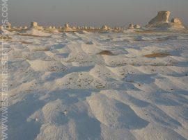 """""""Snow"""" in the White Desert"""