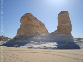 The Snail rock formation in the Agabat Valley