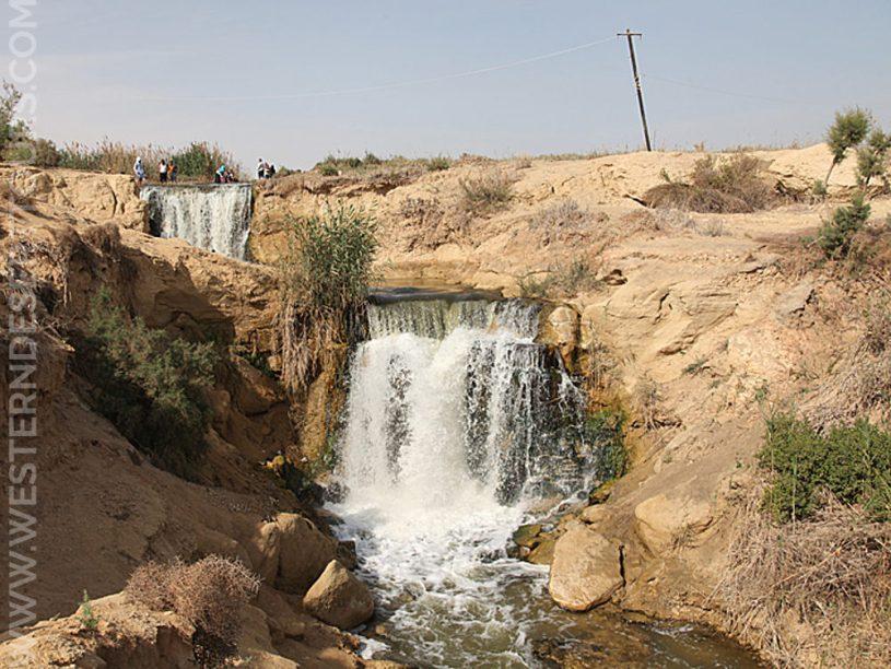Wadi al-Rayan Waterfalls