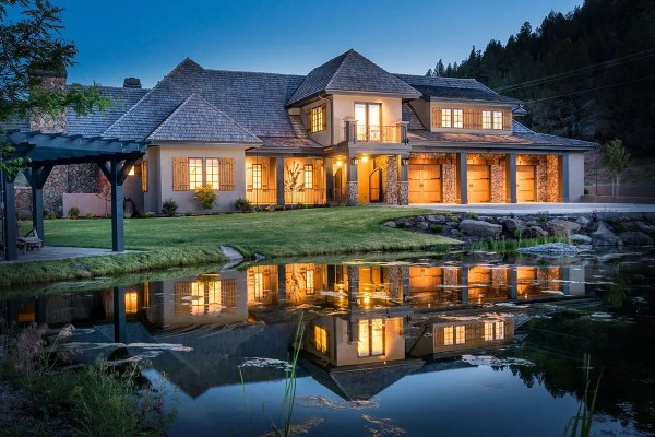 French Country Home Design Central Oregon Custom