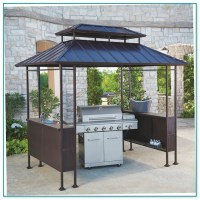 Hard Top Grill Gazebo  Home Improvement