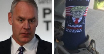 Witch Hunt: Special Counsel Opened File on Zinke for Tweeting Pic of Trump Socks