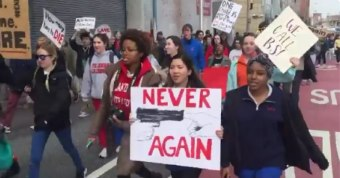 District Can't Heat Schools, Buses Students to Anti-Gun Rally With Free T-Shirts/Lunches