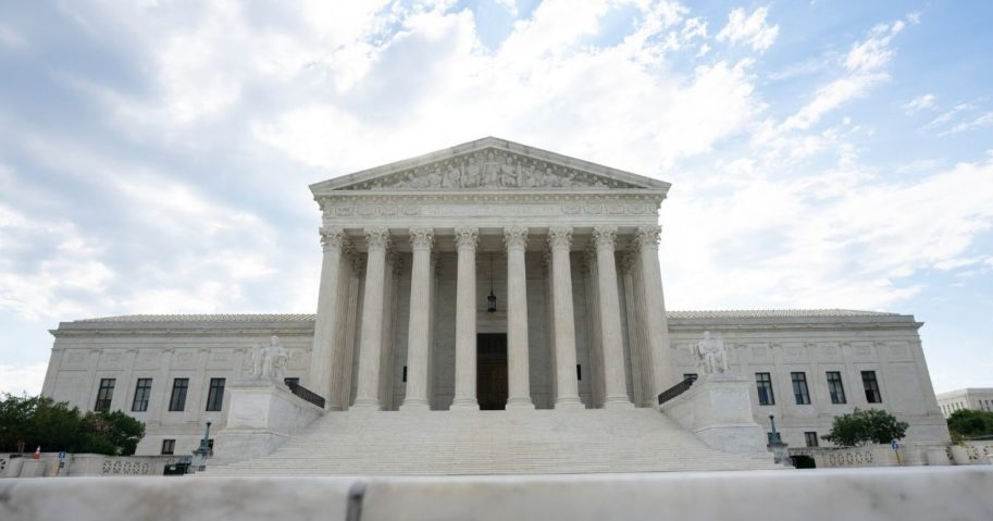 A general view of the U.S. Supreme Court on June 30, 2020, in Washington, D.C.