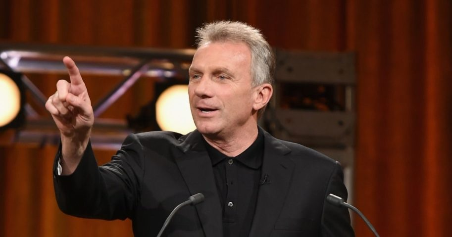 Four-time Super Bowl winner Joe Montana is pictured here during an appearance at New York's Friars Club in 2015.