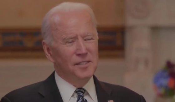 President Joe Biden struggles to articulate a number during a MSNBC interview that aired Wednesday.