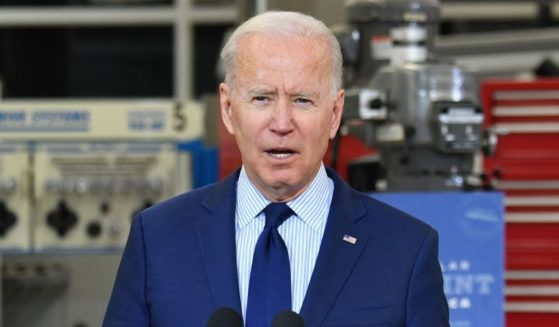 President Joe Biden speaks on the economy at Cuyahoga Community College Manufacturing Technology Center on Thursday in Cleveland.