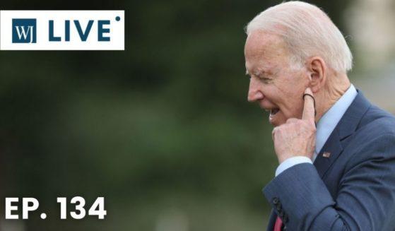 A former White House physician has expressed concerns over President Joe Biden's strange gaffes and behaviors.