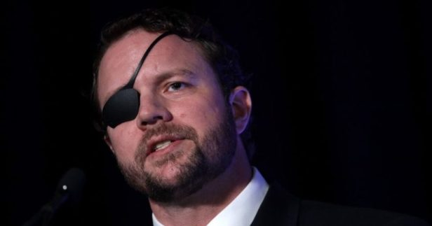 Texas Republican Rep. Dan Crenshaw speaks during the CPAC Direct Action Training at Gaylord National Resort & Convention Center Feb. 26, 2020 in National Harbor, Maryland.