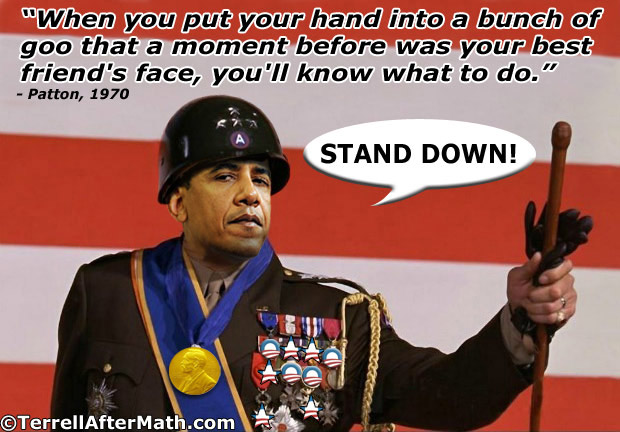 General Obama Forward Stand Down SC Obama building a personal army at the Department of Homeland Security