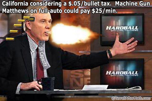 Machine Gun Chris Matthews MSNBC SC