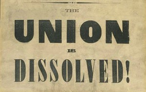 Union Dissolved 300x189 Red State Secession on the Brink
