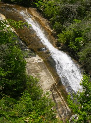 Upper Bearwallow Falls