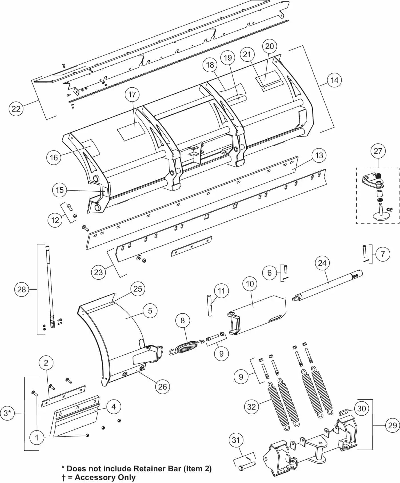 western snow plow parts diagram of water purification process ultramount wide out blade quadrant