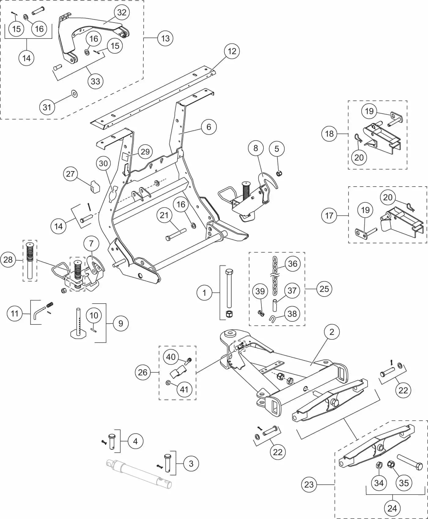 western snow plow parts diagram tongue taste ultramount 2 wide out lift frame and t