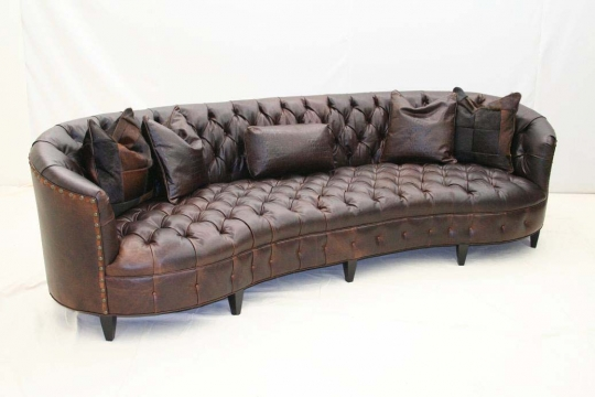 long sofas leather kasala colin sofa curved tufted western passion