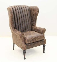 Sundance Western Wing Chair Old Hickory Tannery Furniture ...