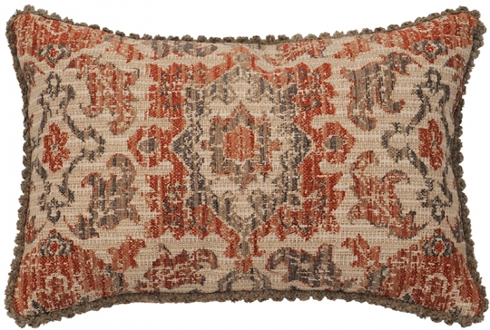 wooded river brio henna southwest lumbar accent pillow