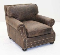 Old Hickory Club Chair: Western Passion