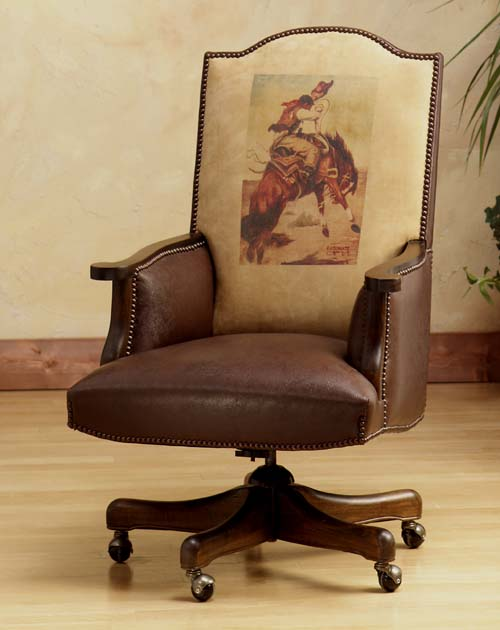 Executive Dimension Chair Western Passion