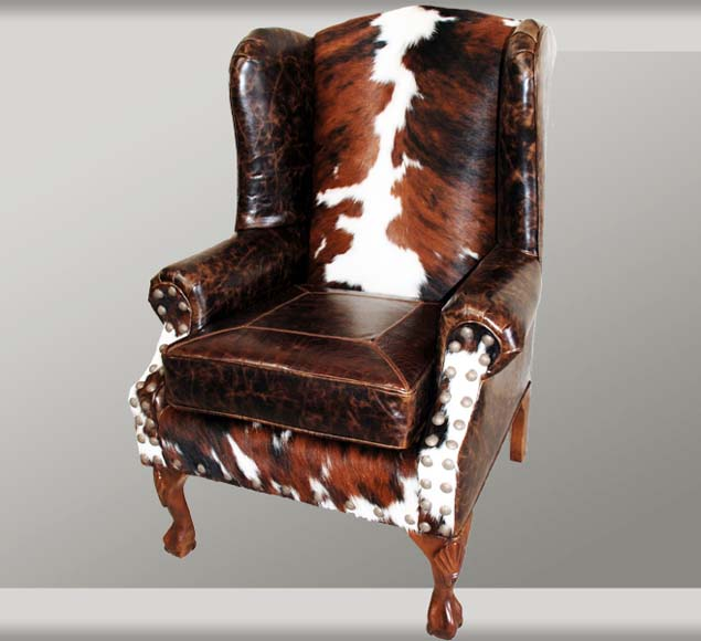Santa Fe Wingback Chair Western Passion