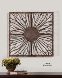 Natural Branch Wall Art: Western Passion