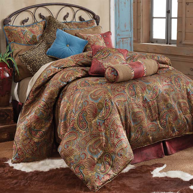 sofas san antonio oversized sofa slipcover angelo paisley bedding set: western passion