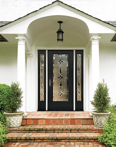 therma tru entry doors fiberglass