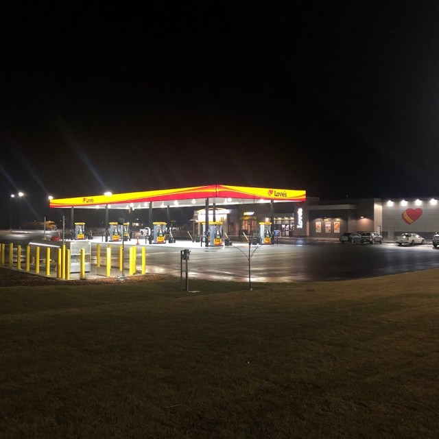 of Love's new Travel Stop in Bliss, ID   Western Pump Construction