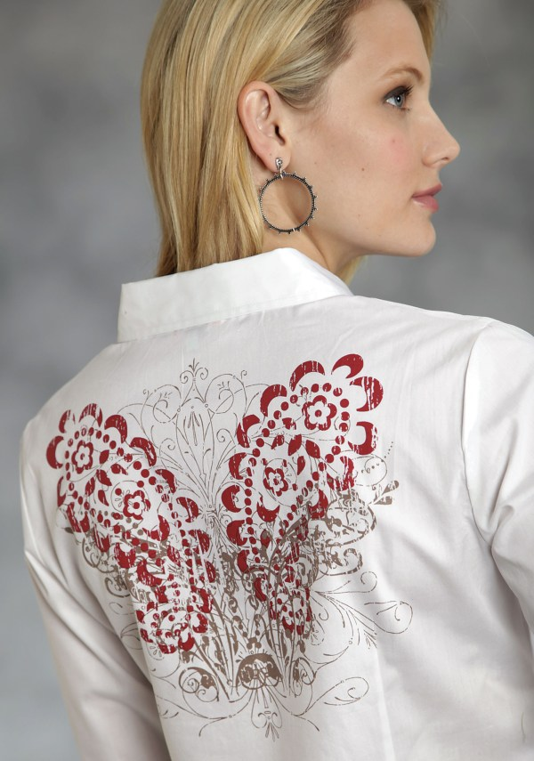 Women Western Show Shirts with Bling