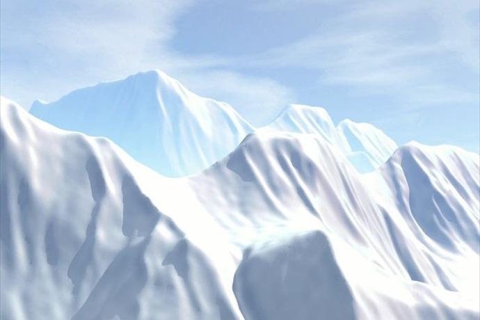 snowy mountain _-3327255464275261508