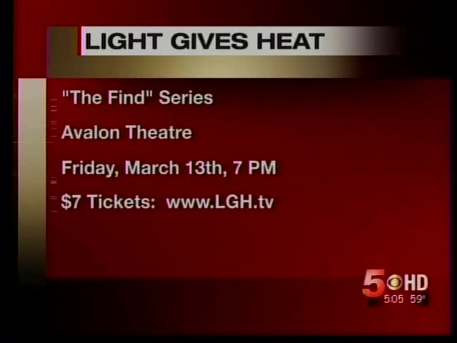 "New Film Series ""The Find"" set for Pre-Screening at Avalon_8303917226065021177"