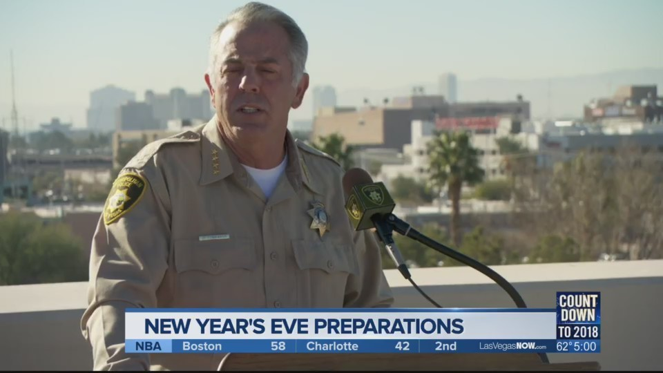 Heightened security expected in Las Vegas on New Year's Eve